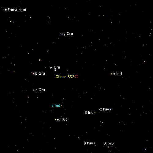how amny moons does gliese 832c have-#7